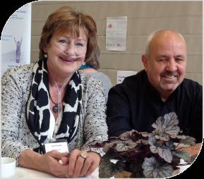 Gerdi und Norbert Späth von Selbsthilfegruppe Lunge Hanau